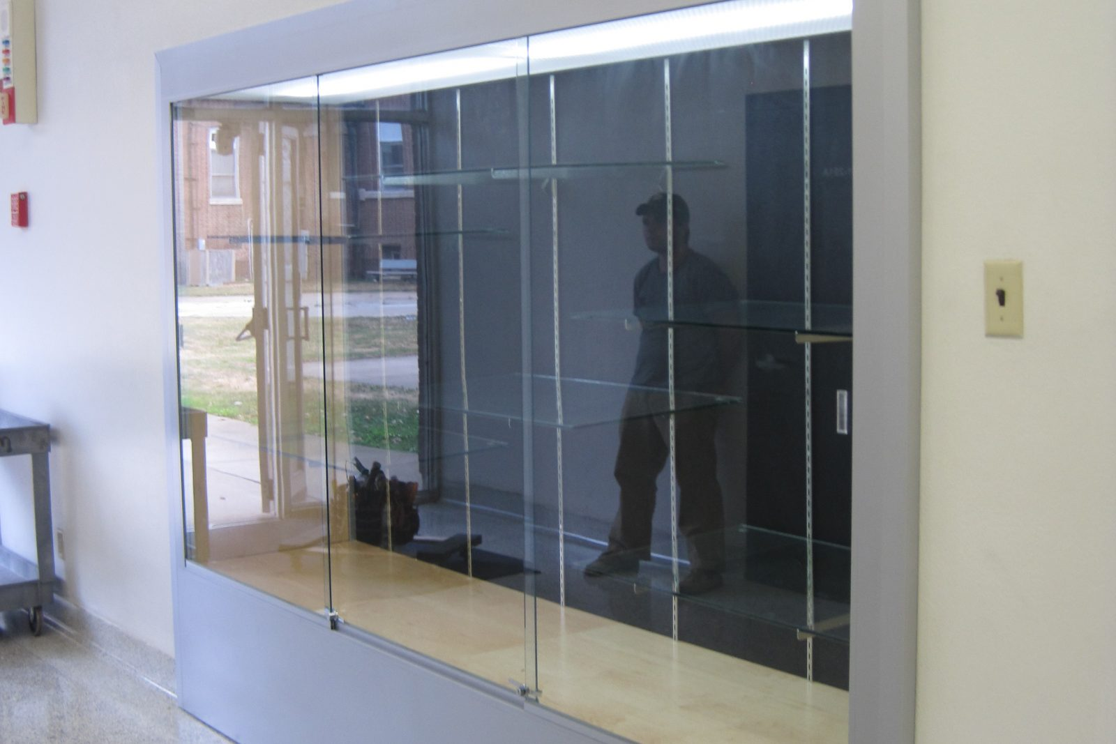 Recessed Display Cases The Tablet Amp Ticket Co