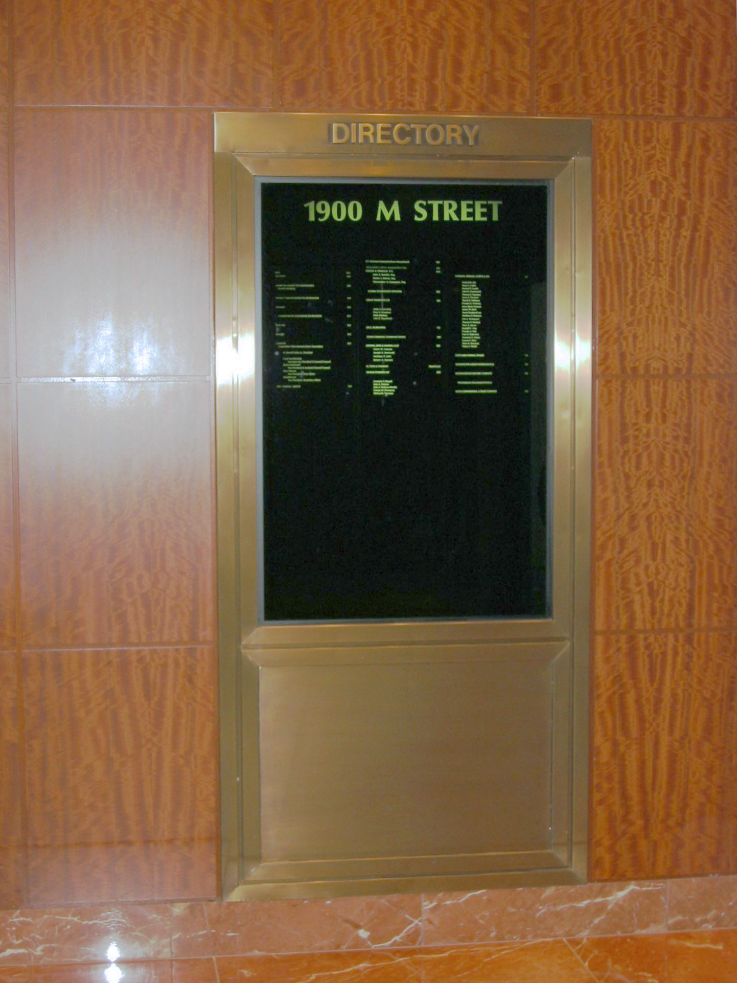 1900 M Street Washington DC