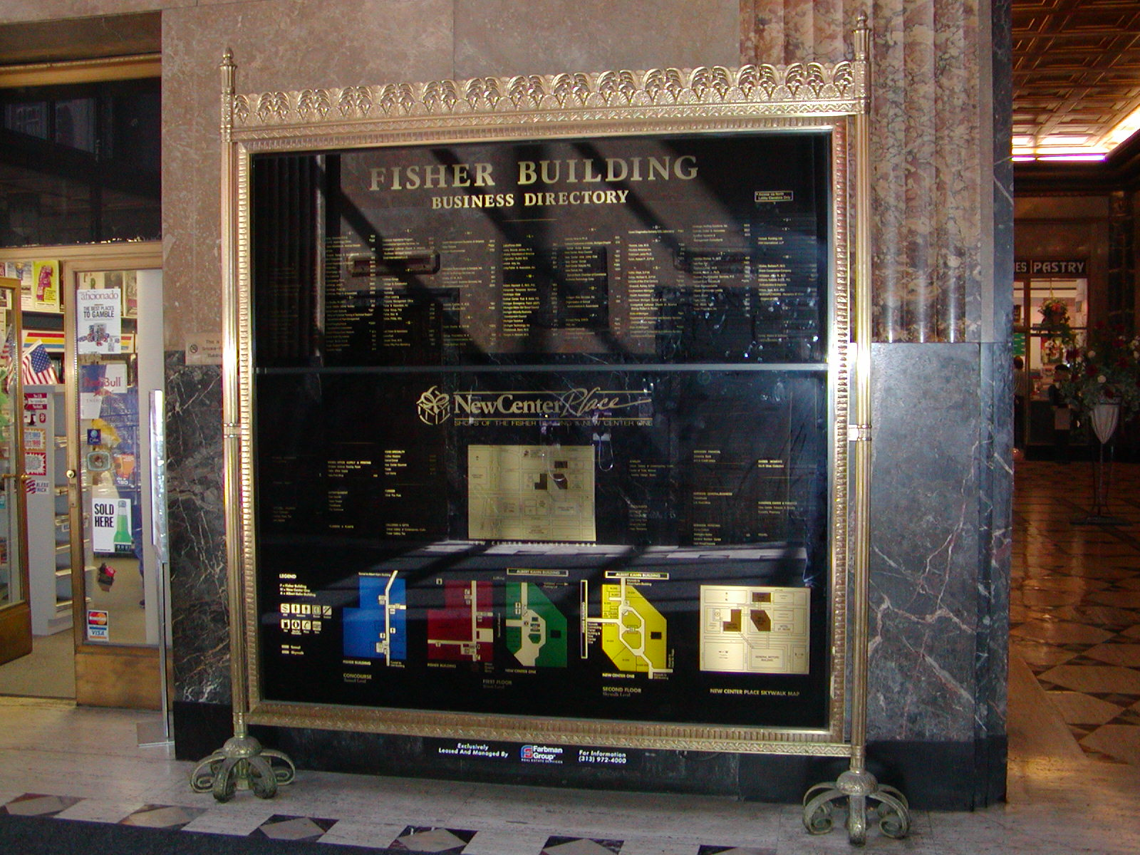 Fisher Building Directory