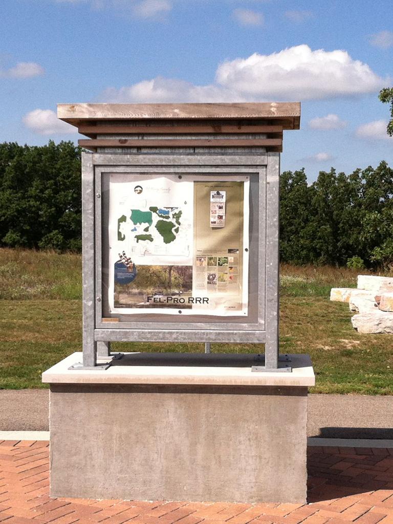 McHenry County Conservation Kiosk