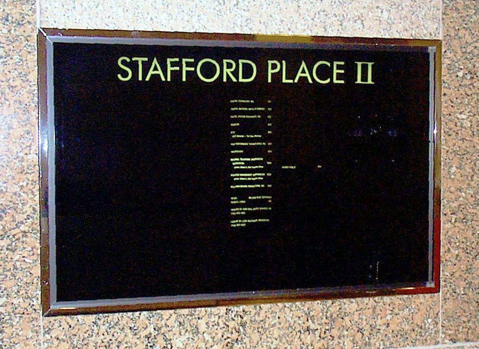 Stafford Place II Houston TX